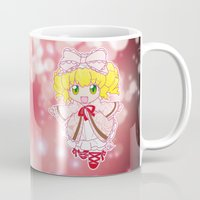 chibi Mugs featuring Chibi Hinaichigo by Yue Graphic Design