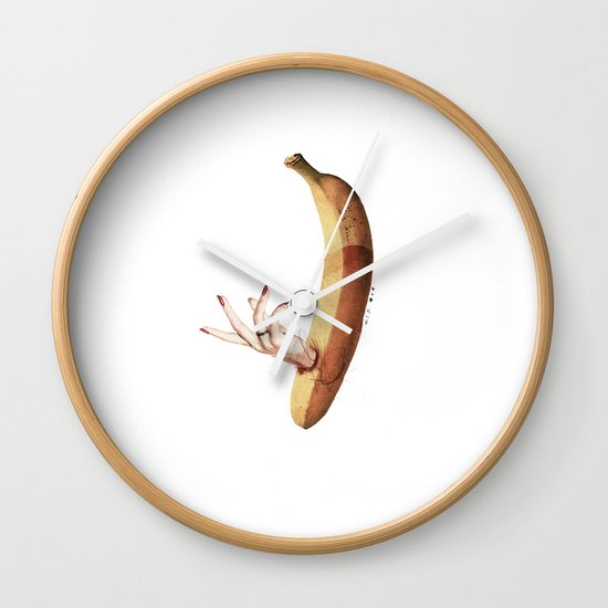 Faux   Collage Wall Clock