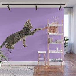 Curious Kitten Wall Mural