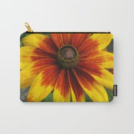 Flower   Flowers   Yellow Gaillardia Daisy   Nature Photography Carry-All Pouch