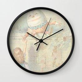 Vintage Humpty Dumpty Wall Clock