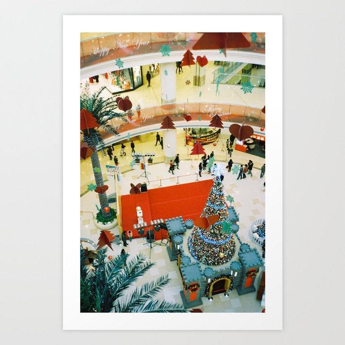 close to Christmas   Art Print