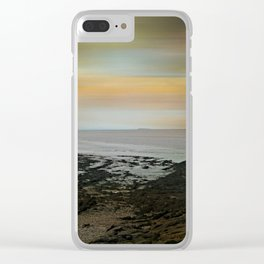 Bristol Channel View Clear iPhone Case