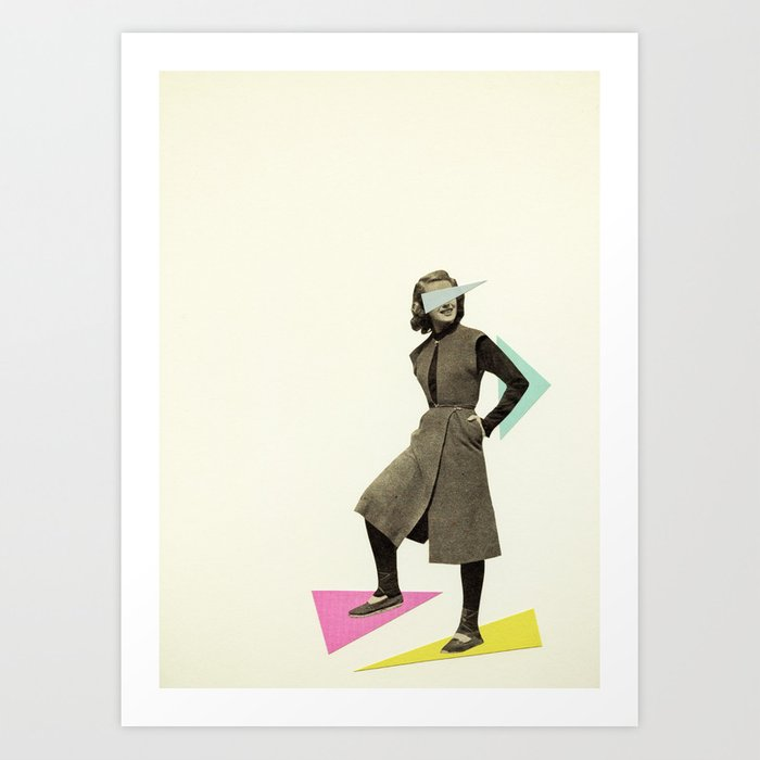 Shapely Figure Art Print