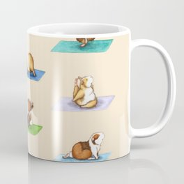 The Yoguineas - Yoga Guinea Pigs - Namast-hay! Coffee Mug