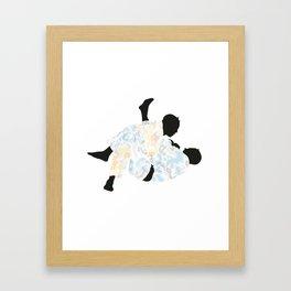 Delicate Judoka 04 Framed Art Print
