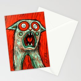 Perplexed Cat Stationery Cards