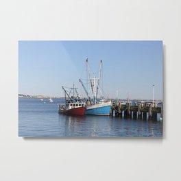 Provincetown Boats Metal Print