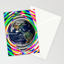 Earth Vibes Stationery Cards