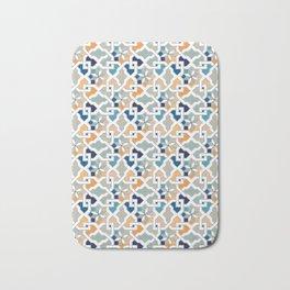 Geometric Pattern - Oriental Design Bath Mat