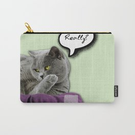 DRUNKY CAT Carry-All Pouch