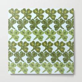 Clover pattern 1 Metal Print