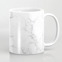 Marble Black and White Coffee Mug