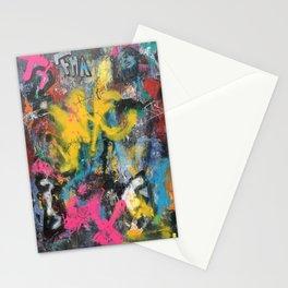 NYC GRAFFITI WALL Stationery Cards
