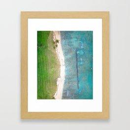 Hawaiian Shores Framed Art Print