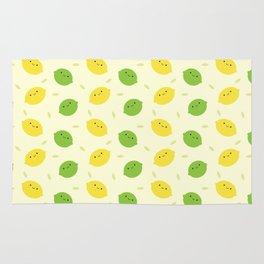 Kawaii Lemons & Limes Rug