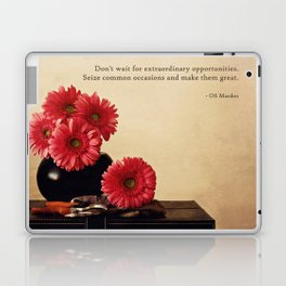 Don't Wait Laptop & iPad Skin