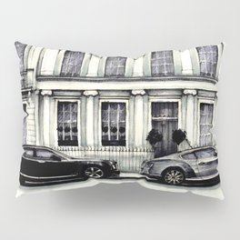 THE STREET OF LONDON IN GREYS Pillow Sham