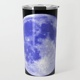 Blue Moon looks like Earth Travel Mug