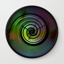 """""""The art is the place of the perfect freedom """"  Wall Clock"""