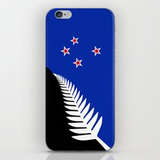 NZ flag (that nearly made it) 2016 iPhone & iPod Skin