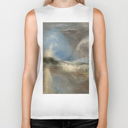 """J.M.W. Turner """"Rockets and Blue Lights (Close at Hand) to Warn Steam Boats of Shoal"""" Biker Tank"""