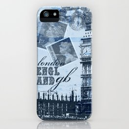 Anglophile Love iPhone Case