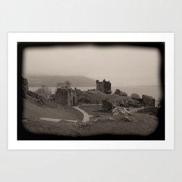 Urquhart Castle, Lock Ness, Scotland Art Print