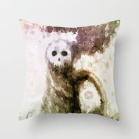 let it go Throw Pillows featuring Let Go by Jæn ∞