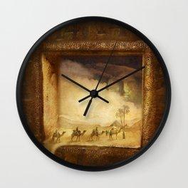 Caravanserei Wall Clock