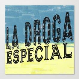 DROGAS Canvas Print