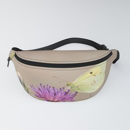 Clouded Yellow Butterfly Fanny Pack