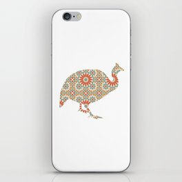 TURKEY SILHOUETTE WITH PATTERN iPhone Skin