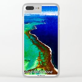 Landscapes and Animals of New Caledonia 1 Clear iPhone Case