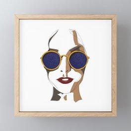 View of Fashion Framed Mini Art Print