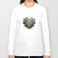 camouflage Long Sleeve T-shirts featuring CAMOUFLAGE by GEEKY CREATOR