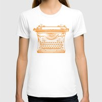 typewriter T-shirts featuring Typewriter by Jessica Slater Design & Illustration