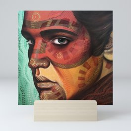 Aaron, inspired by Elvis Mini Art Print