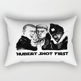 Hubert shot first Rectangular Pillow