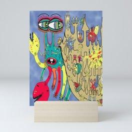 Downton Crabbey Mini Art Print