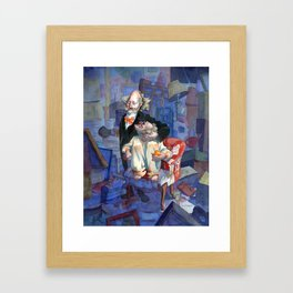Langley and Homer, the Collyer Brothers Framed Art Print