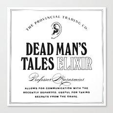 Dead Man's Tales Elixir Canvas Print