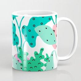 Postmodern Planters in White Coffee Mug
