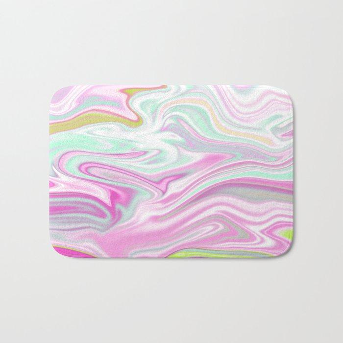 Iridescent Marble 03 Bath Mat