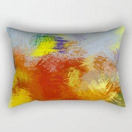 """Barche tra i cespugli"" Digital Art 2014 Rectangular Pillow"