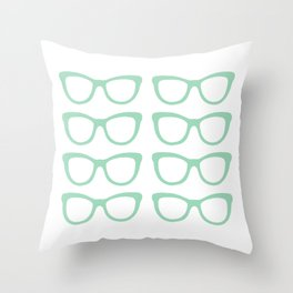 Glasses #5 Throw Pillow