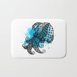 Zodiac Zentangle - Aquarius Bath Mat