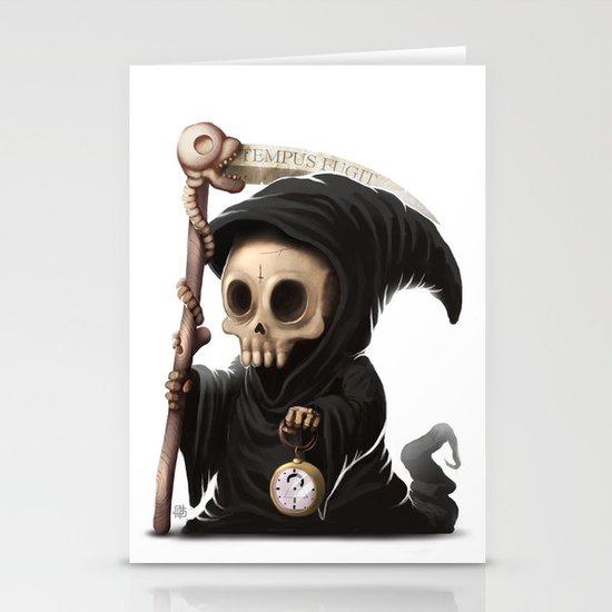 Tempus Fugit Stationery Cards