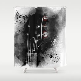 DIALED IN Shower Curtain