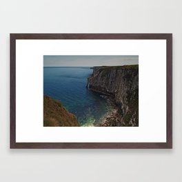 Bempton Cliffs 2 Framed Art Print